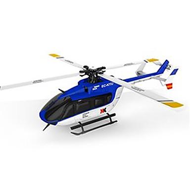 RC Helikopter XK K124 6CH Vezérlő 3 Tengelyes 2,4 G Kefe nélküli elektromotor - Távirányító