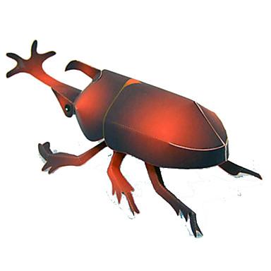 voordelige 3D-puzzels-3D-puzzels Bouwplaat Modelbouwsets Insect Beetle DHZ Simulatie Klassiek Tiener Speeltjes Geschenk
