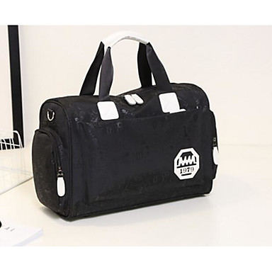 Women Bags All Seasons Polyester Travel Bag for Casual Outdoor Blue Black Purple