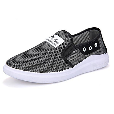 Women's Shoes Tulle Spring Fall Comfort Sneakers For Casual Gray Blue