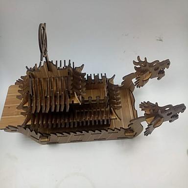 Quebra-Cabeças 3D Quebra-Cabeça Navio Madeira Unisexo Dom