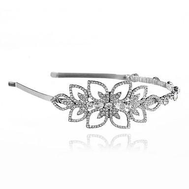 Alloy Tiaras Headbands Headpiece Wedding Party Elegant Feminine Style