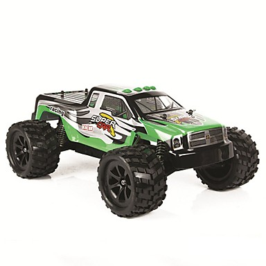 Carro com CR WL Toys 2.4G 2WD SUV Alta Velocidade Drift Car Off Road Car Monster Truck Bigfoot Jipe (Fora de Estrada) 1:12 40km/h KM / H