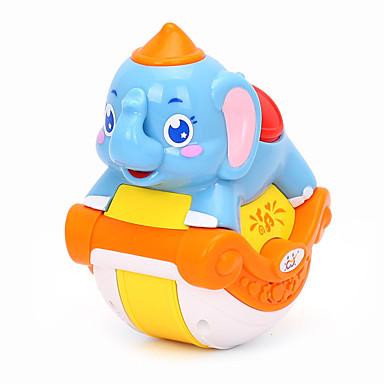 HUILE TOYS Nukkekodin tarvike Pienoismallisetit Opetuslelut Elefantti Eläimet Musiikki Simulointi Cartoon Lovely Vauvat