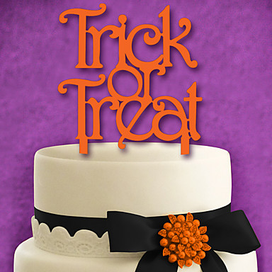Cake Topper Birthday Wedding Plastic Wedding Birthday with 1pcs PVC Bag