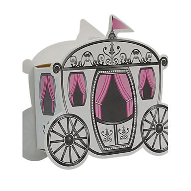 12 stk / sett favoritholder - kreativt kortpapir favørboks - bryllupsglasskasse 9 x 3,3 x 7,5 cm beter gaver ® diy festdekor