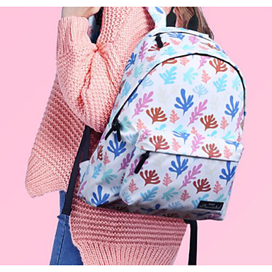 Women Bags Polyester Nylon Shoulder Bag for Casual Outdoor All Seasons Blue White