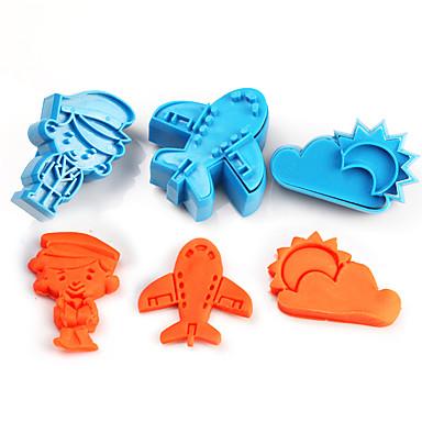 Bakeware eszközök Műanyagok Gyermekek / DIY Torta Cookie Tools