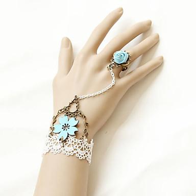 Magedans Smykker Dame Ytelse Polyester Appliqué Armbånd