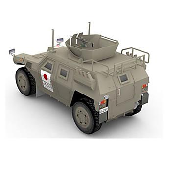 Carros de Brinquedo Quebra-Cabeças 3D Quebra-Cabeça Artesanato de Papel Tanque 3D Faça Você Mesmo Artigos de mobiliário Simulação Clássico