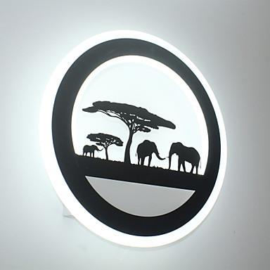 LED Luminárias de parede Para Metal Luz de parede 110-120V 220-240V 29W
