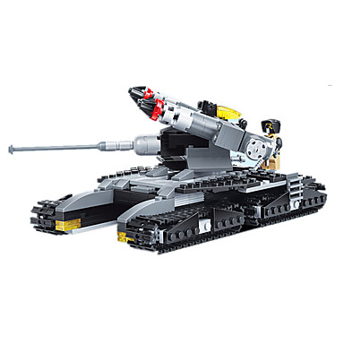 JIE STAR Blocos de Construir Brinquedos de Montar Quadrada Pato Tanque Aeronave Para Meninos Unisexo Brinquedos Dom