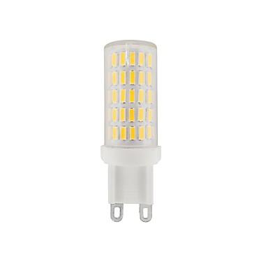 3.5 G9 LED Bi-pin Lights T 86 LEDs SMD 4014 Decorative Warm White Natural White White 380-420lm 2800-6500K AC 220 110-120V