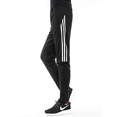 Men's Women's Running Pants Fitness, Running & Yoga Quick Dry Pants / Trousers for Running/Jogging Exercise & Fitness Loose White Gray