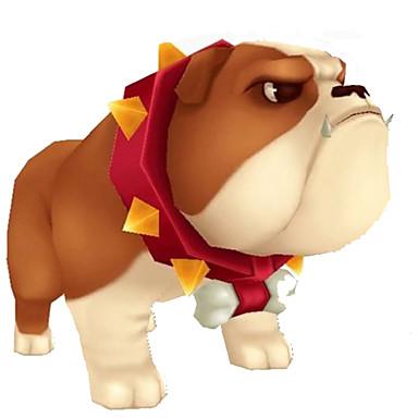 Quebra-Cabeças 3D Maquetes de Papel Artesanato de Papel Brinquedos de Montar Quadrada Cachorros 3D Faça Você Mesmo Clássico Desenho
