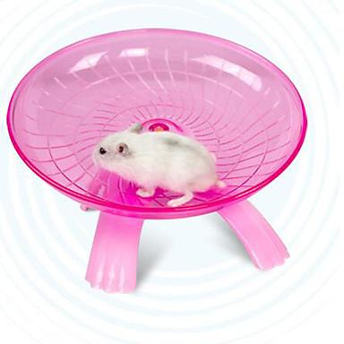 Roedores / Hamster Vidro Multi-Função / Durável Azul / Rosa claro