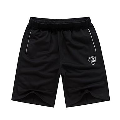 Herre Shorts til jogging Fritid/hverdag Shorts til Løper Trening & Fitness Polyester Tynn Svart Mørkeblå L XL XXL XXXL XXL-XXXL