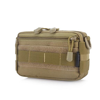 Men Bags All Seasons Nylon Sling Shoulder Bag for Casual Outdoor Brown