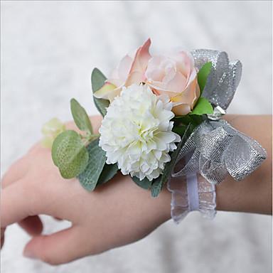 Bouquets de Noiva Buquê de Pulso Casamento Poliéster 3.94