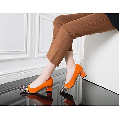 Women's Shoes Oxford Spring Summer Comfort Flats For Casual Black Orange