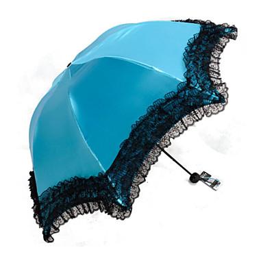 1 kpl anti-ultravioletti aurinko sateenvarjon yleiskorvan selkeä sateenvarjo
