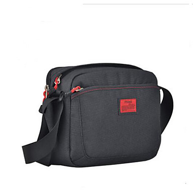 Men Shoulder Bag Polyester All Seasons Casual Outdoor Rectangle Zipper Blue Black Gray