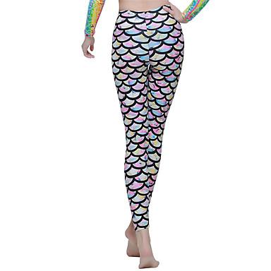 SBART Mulheres Calça Legging de Mergulho Náilon Chinês Elastano Fato de Mergulho Calças - Mergulho Surfe Esportes Aquáticos Todas as