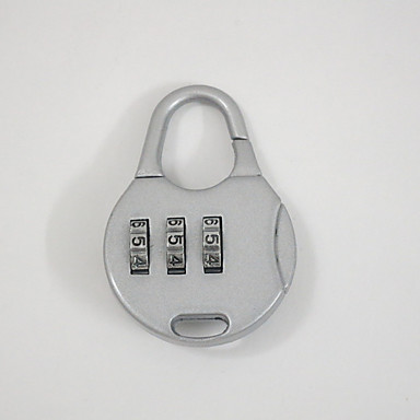 002 Luggage luggage accessories lock Password unlocking 3 Digit Password Dail Lock Password Lock
