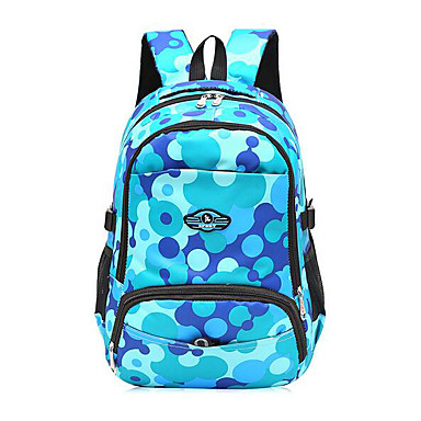 Women Bags All Seasons Poly urethane Backpack for Casual Blue