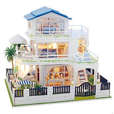 Building Toy Model Building Kit DIY Famous buildings House Plastics Classic Pieces Unisex Gift