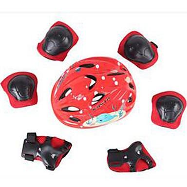 Kinder Schutzausrüstung für Bergradfahren Straßenradfahren Radsport Eislaufen Videokompression Schwingungsdämpfung Dick Sicherheits