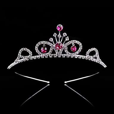 Crystal / Rhinestone / Alloy Tiaras / Headbands with 1 Wedding / Special Occasion / Party / Evening Headpiece