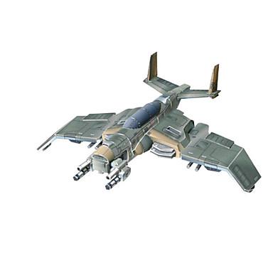 Quebra-Cabeças 3D Artesanato de Papel Quadrada Aeronave Lutador 3D Simulação Faça Você Mesmo Cartão de Papel Duro Para Meninos Unisexo Dom