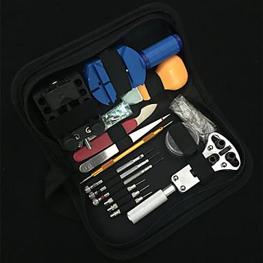 Klokkeesker Klokkebatterier Rammeåpnere Verktøysett Rustfritt Stål Klokketilbehør 0.56 Høy kvalitet
