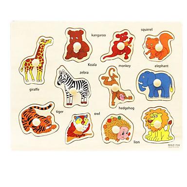Quebra-Cabeça Quebra-Cabeças de Madeira Jogos de Madeira Brinquedo Educativo Brinquedos Quadrada De madeira Crianças Peças