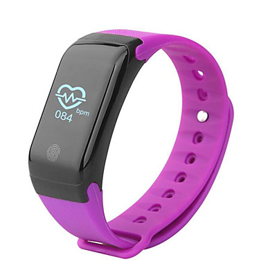 Smart Bracelet H10 for iOS / Android Touch Screen / Heart Rate Monitor / Water Resistant / Water Proof Pedometer / Activity Tracker / Sleep Tracker / Alarm Clock / Community Share / Calories Burned