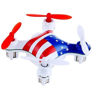 RC Drone WL Toys V676 4CH 6 Eixos 2.4G Sem câmera Quadcópero com CR Luzes LED Auto-Decolagem Seguro Contra Falhas Quadcóptero RC Controle