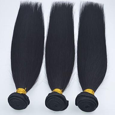 Cabelo Brasileiro Reto Tramas de cabelo humano 1 Peça 0.3