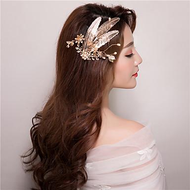 Imitation Pearl Hair Clip Headpiece Classical Feminine Style