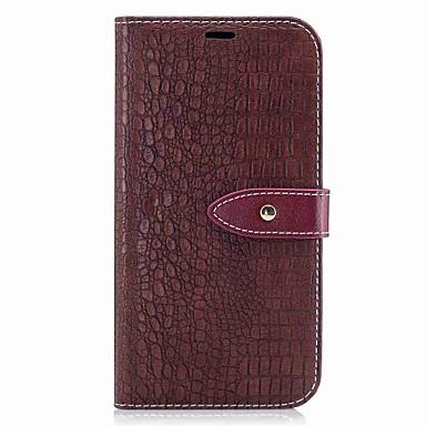 Capinha Para Samsung Galaxy A5(2017) / A3(2017) Carteira / Porta-Cartão / Flip Capa Proteção Completa Sólido Rígida PU Leather para A3 (2017) / A5 (2017) / A5(2016)
