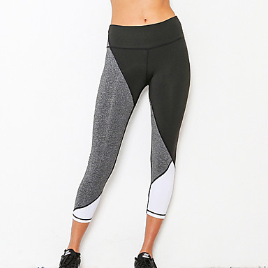 Women's Running Tights Gym Leggings Fitness, Running & Yoga Quik Dry Sports Tights Bottoms for Yoga Running/Jogging Camping / Hiking