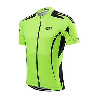 Fastcute Men's Cycling Jacket Solid Color Bike Jersey Polyester / Quick Dry / Stretchy / Advanced