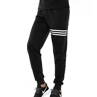 Men's Women's Running T-Shirt with Shorts Pants / Trousers Running for Running/Jogging Exercise & Fitness Running Black