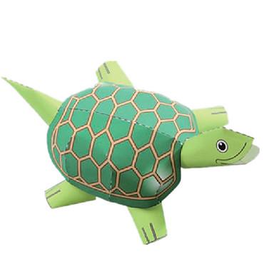 Quebra-Cabeças 3D Maquetes de Papel Artesanato de Papel Brinquedos de Montar Quadrada Animais Faça Você Mesmo Clássico Unisexo Dom
