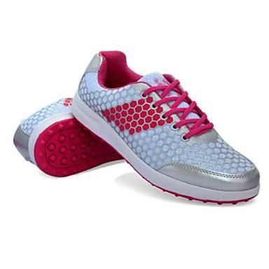 Sapatos para Golf Mulheres Golf Almofadado Macio Confortável Resistente ao Choque Esportes Esportes Espetáculo Praticar Esportes