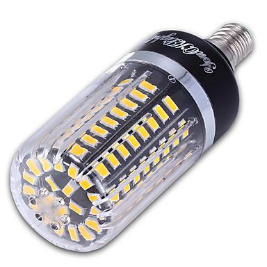 9W 900 lm E14 Lâmpadas Espiga 100 leds SMD 5736 Decorativa Branco Quente Branco Frio AC 85-265V