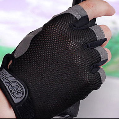 Sports Gloves Bike Gloves / Cycling Gloves Wearable / Breathable / Protective Fingerless Gloves Cloth Cycling / Bike Unisex