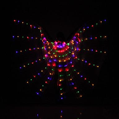 Dança do Ventre Asas de Ísis Mulheres Espetáculo Poliéster Animais Pessoas Natal Dia de Ação de Graças Artes, Artesanatos e Costura Fadas