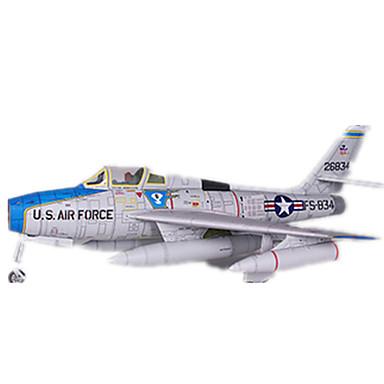 Quebra-Cabeças 3D Maquetes de Papel Brinquedos de Montar Aeronave Lutador Faça Você Mesmo Cartão de Papel Duro Clássico Crianças Para