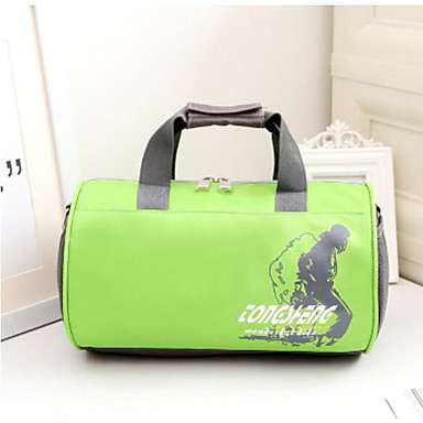 Women Travel Bag Oxford Cloth Polyester All Seasons Casual Outdoor Rectangle Zipper Blue Green Red Purple